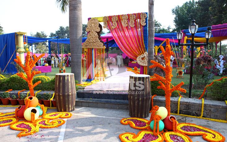 Mb events themes decor mehndi Gallery decoration
